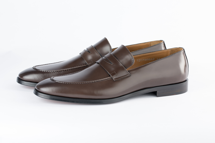 Cognac Penny Loafers
